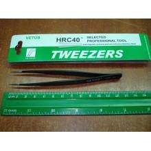 Антистатический пинцет Tweezers VETUS ESD-16 для смд (SMD) компонентов