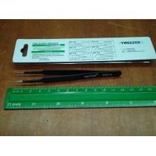 Антистатический пинцет Tweezers VETUS ESD-14 для смд (SMD) компонентов