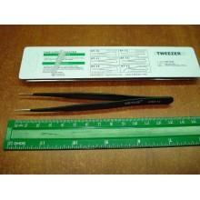 Антистатический пинцет Tweezers VETUS ESD-12 для смд (SMD) компонентов