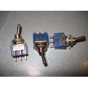 Тумблер MTS-102 двухфазный , 3 pin, 3A 250V AC (1 шт.)