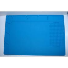 Коврик для пайки силиконовый термоковрик S-120B 340мм x 230мм мат для разборки и пайки электроники