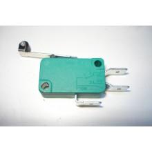 Переключатель концевой 16А / 250V KW1-103-7-B1SA рычаг 25мм с колесом (6,3мм контакт)