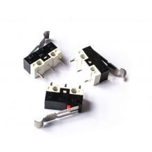 Микровыключатель 14х6х6мм с флажком L=12мм черный MK7/MK8 (1 шт.) #1:94