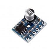 Микро цифровой усилитель платы класса D 5 Вт Моно аудио модуль XY-SP5W 5128 мини усилитель (1 шт.) #i27