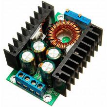 Модуль 300W DC-DC понижающий преобразователь с регулировкой тока и напряжения buck step down . Uin-7...32V Uout-0,8...28V, Iout 10 А max