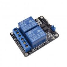Arduino релейный модуль модуль реле 2 канала реле 5В 10 А (1 шт.) #1:88