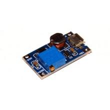 Преобразователь повышающий MT3608 с MICRO USB DC/DC # 1:15