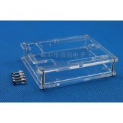Корпус акриловый для Arduino UNO R3 прозрачный DIP #1:94