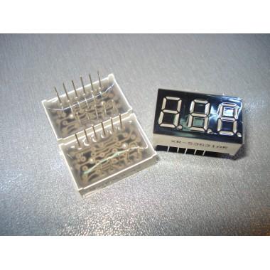 Светодиодный индикатор 3 разряда красный катод 0.36 дюйма XR-S3631AR (1 шт.) #R19
