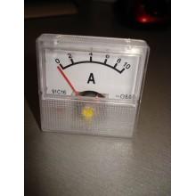 Амперметр стрелочный SF-40 шкала 0-10A 91C16 130mV (1 шт.)