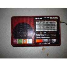 Радиоприемник Golon RX 2277 портативная колонка USB /SD / MP3/ FM / LED фонарик, цвет черный