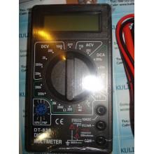 Мультиметр тестер вольтметр амперметр DT-838 с термопарой