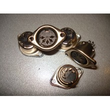 Гнездо DIN 5pin монтажное, корпус металлический (1 шт.) #4:11