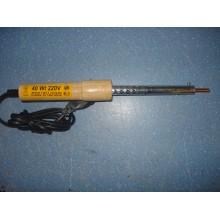 Паяльник деревянная ручка 40W