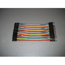 Провод dupont папа-мама шина Arduino 10 см (1 шт.) #1:50