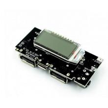 Плата Power Bank 18650 5 В 1A 2A зарядка аккумулятора источник питания с экраном (1 шт.) #1:96