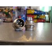 Разъём MIC 335 big (штекер), монтажный, 5pin, диам.-20мм