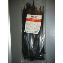 Стяжка кабельная 4*180 черные (100 шт.)
