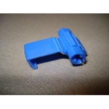 Ответвитель кабеля диам.-1,0-2,5мм.кв., размер-20х27мм., cиний (1 шт.)