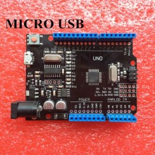 Микроконтроллер UNO R3 ATmega328P/CH340G MicroUSB совместим для Arduino UNO Rev 3.0 #1:48