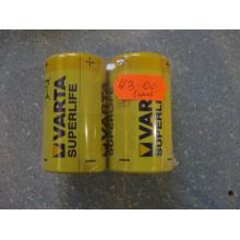 Батарейка Varta L20P (1 шт.)