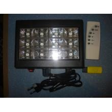 Диско шоу Стробоскоп LED Room Strobe 12L MP3 Светомузыка USB Пульт