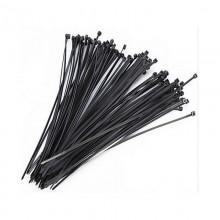Стяжка кабельная 4*150 черная (100 шт.)