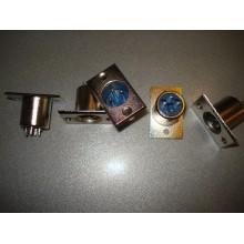 Штекер CANON (XLR) 3pin, монтажный, корпус_металл (1 шт.)