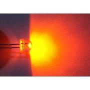 Светодиод светодиоды оранжевый 5 мм. широкоугольный (1 шт.)