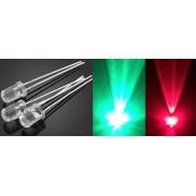 Светодиод светодиоды RG мигающий 5 мм. 2 цвета 5 мм (1 шт.)