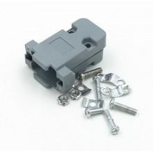 Корпус к разьёму 9 pin корпус пластик DB-9 (1 шт.)