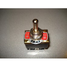 Тумблер KN3(С)-203Р (ON-OFF-ON) 6-и контактный, 10А, 250VAC (1 шт.)
