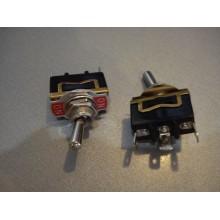Тумблер KN3(С)-102AР (ON-ON) 3-х контактный, 10А, 250VAC (1 шт.)