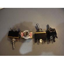 Тумблер KN3(С)-202Р (ON-ON) 6-и контактный, 10А, 250VAC