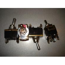 Тумблер KN3(С)-201Р (ON-OFF) 4-х контактный, 10А, 250VAC