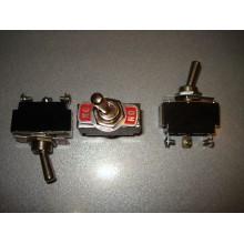 Тумблер KN3(B)-102 (ON-ON) 3-х контактный, 6A, 250VAC