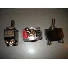 Тумблер KN3(B)-201 (ON-OFF) 4-х контактный, 6A 250VAC