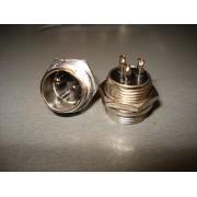 Разъём MIC 333, (штекер), монтажный, 3pin, диам.-16мм