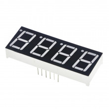 Светодиодный индикатор 4 разряда красный 0.28 дюйма XR-S2841ER (1 шт.) #N8