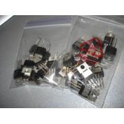 Транзистор биполярный NPN 13007 TO-220 400V 8A (1 шт.) демонтаж короткие выводы #K5