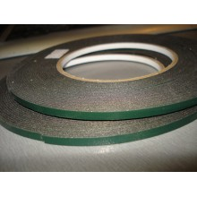 Скотч двустороний 3М длина 25м,ширина 3 мм полиуритановый зеленый