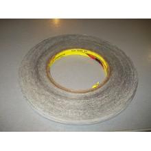 Скотч двусторонний  3M  длина 50м, ширина 3мм Черный