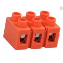 Клеммный блок H2519-3P 36A/660V, материал медь, сечение провода 0.5-6мм2