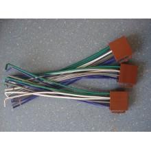 Разъем автомагнитолы ISO (гнездо) с кабелем (кор.)