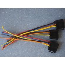 Разъем автомагнитолы ISO (гнездо) с кабелем (черн.)