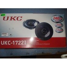 Автомобильная акустика колонки динамики 17cm UKC-1722I 240W