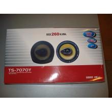Автомобильная акустика колонки динамики TS-7070Y 260W 6'' 16см