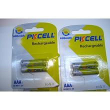Аккумулятор PKCELL 1.2V 600mAh NiMH AAA (1 шт.)
