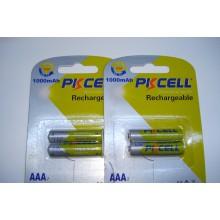 Аккумулятор PKCELL 1.2V AAA 1000mAh