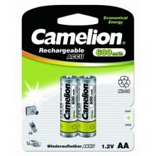 Аккумулятор rechar CAMELION R 6/2bl 600 mAh Ni-CD (1 шт.)